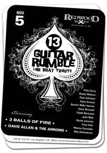 13 guitar rumble
